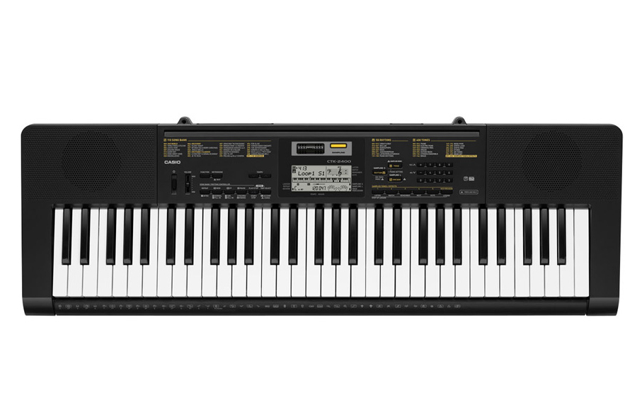 Casio CTK-2400 - синтезатор (Black)Музыкальные инструменты<br>Синтезатор<br>