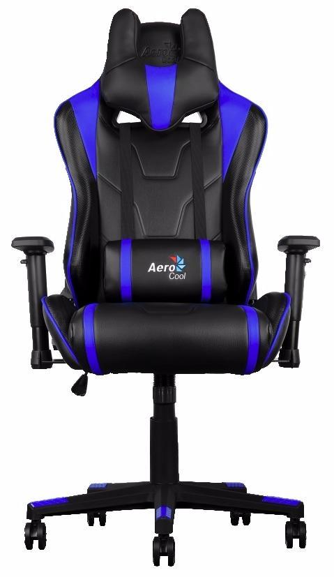 Aerocool AC220-BB - игровое кресло (Black/Blue) arozzi torretta orange v2 игровое кресло