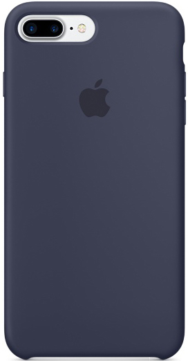 Apple Silicone Case (MMQU2ZM/A) - чехол для iPhone 7 Plus (Midnight Blue)