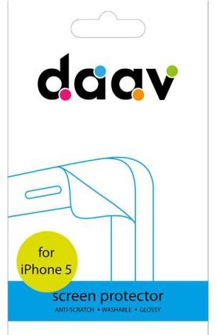 Daav Screen Protector (D-AI5-SP-G) - защитная пленка для iPhone 5/5S (Transparent)