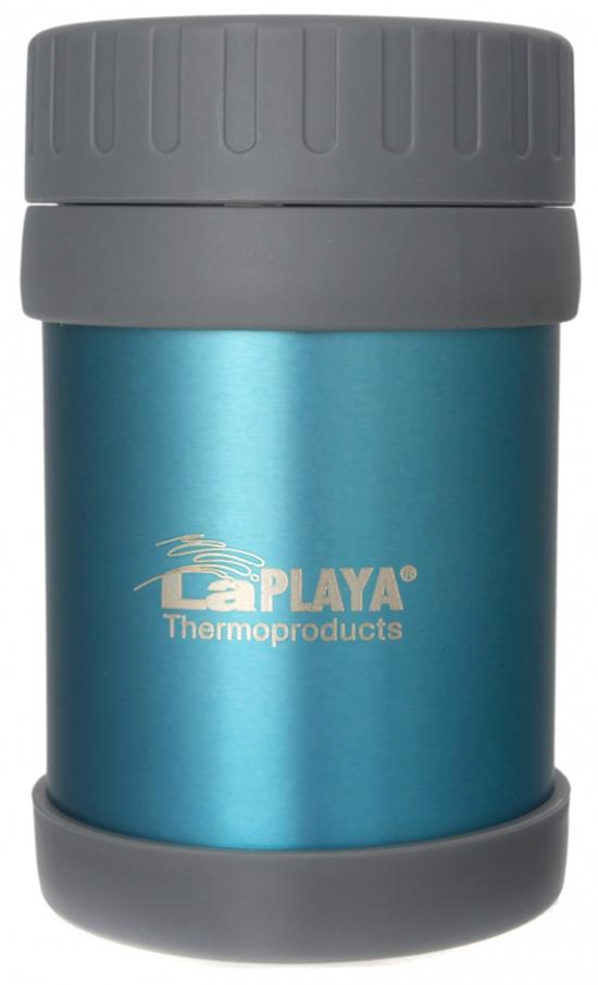 для еды термос для еды laplaya food container цвет синий 350 мл