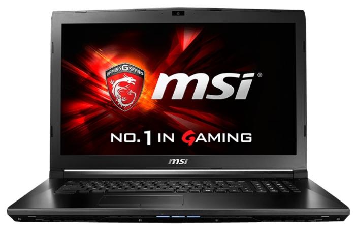 Ноутбук MSI GL72 6QC-046XRU 17.3'', Intel Core i5 6300HQ 2.3GHz, 4Gb, 750Gb HDD (9S7-179675-046) GL72 6QC-046XRU 9S7-179675-046