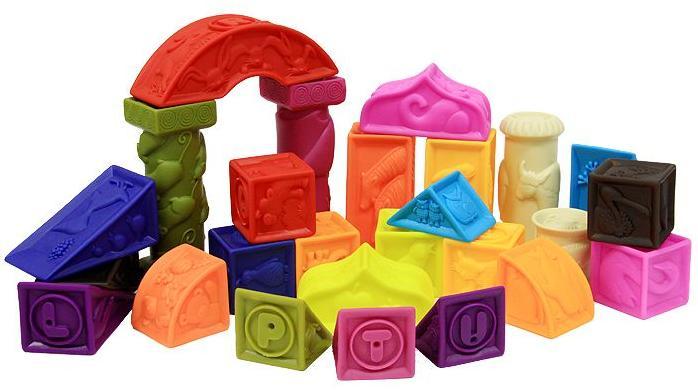 B. Dot 68617 - мягкие кубики и другие формыРазвивающие игрушки<br>Набор игрушек<br>