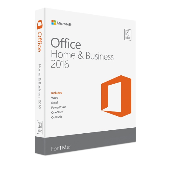 Microsoft Office Mac Home and Business 2016 W6F-00652
