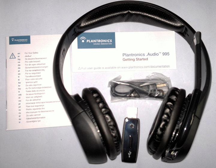Plantronics Audio 995