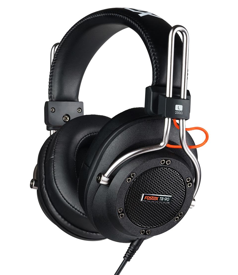 Fostex TR-90 250 Ом - полноразмерные наушники (Black)