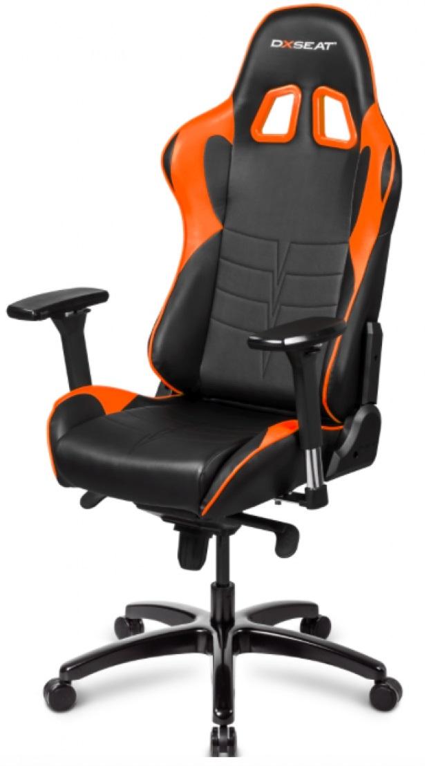 DXseat V75/XO - компьютерное кресло (Orange)
