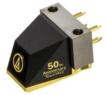 Audio-Technica AT50ANV - головка звукоснимателя (Black/Gold)Аксессуары для проигрывателей виниловых дисков<br>Головка звукоснимателя<br>