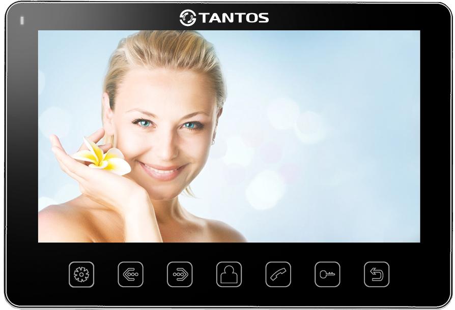 Tantos Prime Slim - монитор видеодомофона (Black)