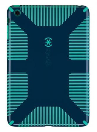 Speck CandyShell Grip (SPK-A1958) - чехол для iPad mini (Deep Sea Blue/Caribbean Blue)