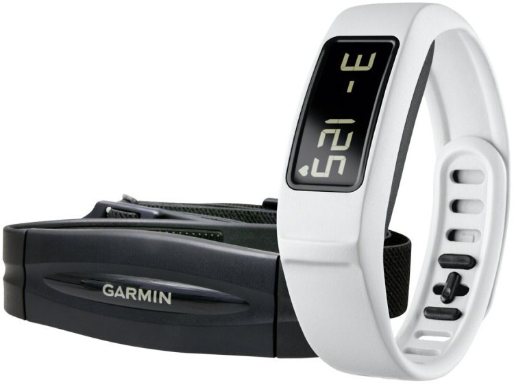 Garmin Vivofit 2 + HRM - шагомер-браслет + пульсометр (White)