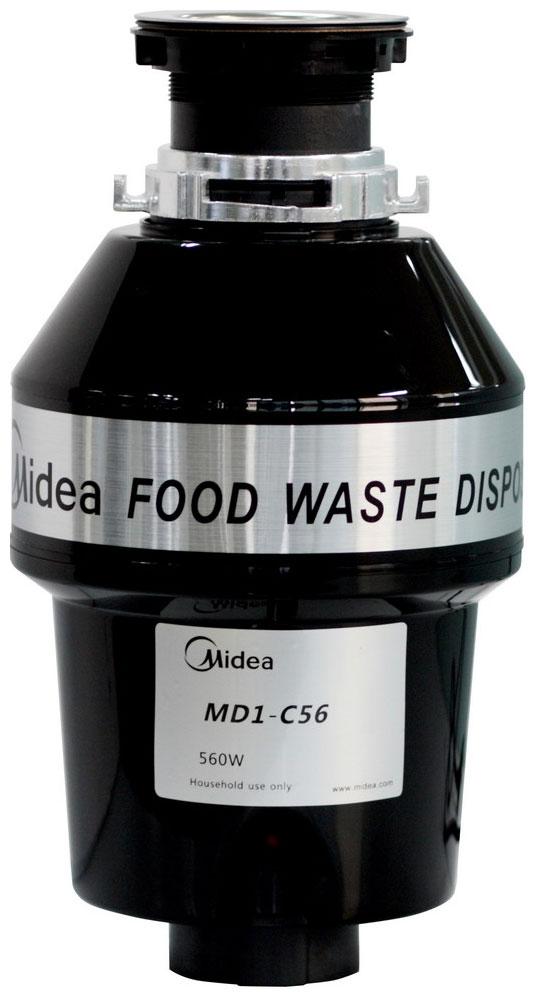 Midea MD 1 C 56 - измельчитель пищевых отходов (Black)