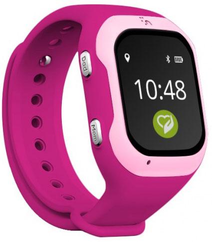 Кнопка жизни К917 - детские часы-телефон с GPS-геолокацией (Pink)