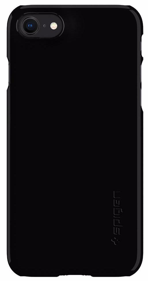 Чехол Spigen Thin Fit (054CS22210) для iPhone 8 (Jet Black) чехол накладка iphone 6 plus lims sgp spigen стиль 8 620027