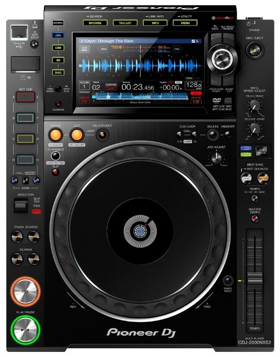 Pioneer CDJ-2000NXS2 (A062131) - DJ-контроллер (Black)