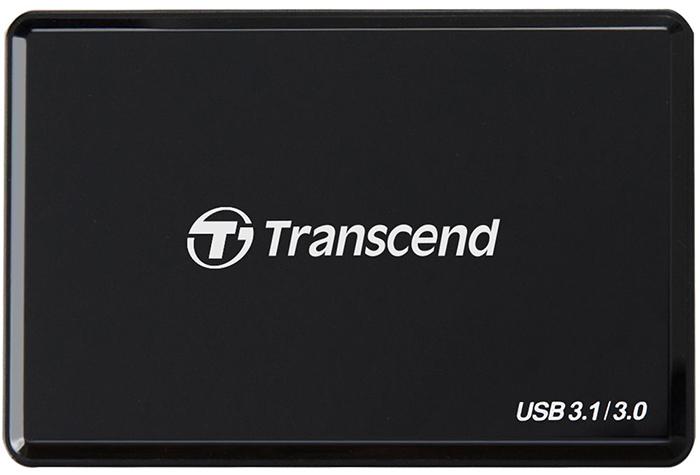 Transcend RDF9 (TS-RDF9K) - картридер (Black)