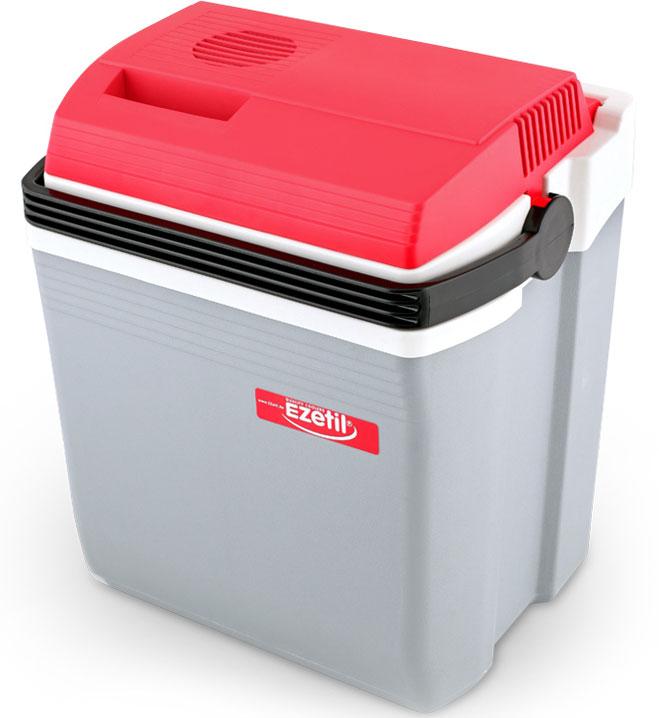 Ezetil E21 12V (10775036) - автомобильный холодильник (Red/Gray)