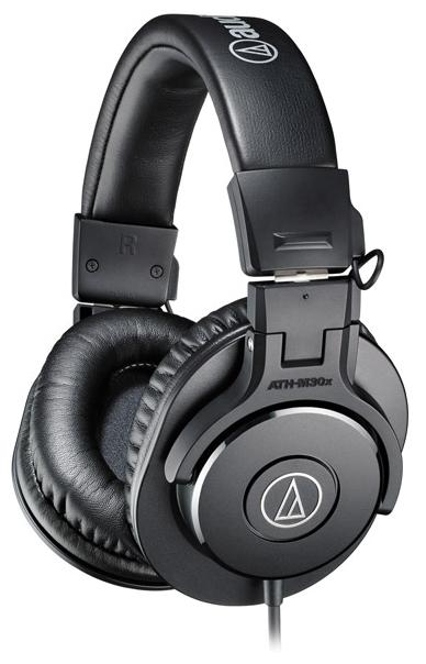 Audio-Technica ATH-M30X - мониторные наушники (Black)