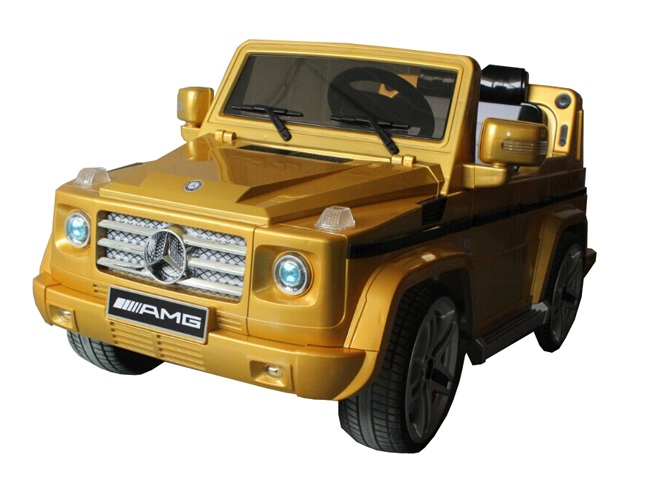 Barty Mercedes G-55AMG_gold