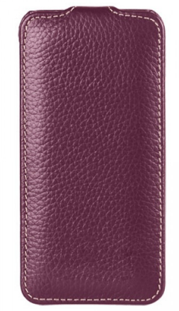 Vetti Craft Slimflip Normal Series (IPO5SFNS110108) - чехол для iPhone 5/5S/SE (Purple)