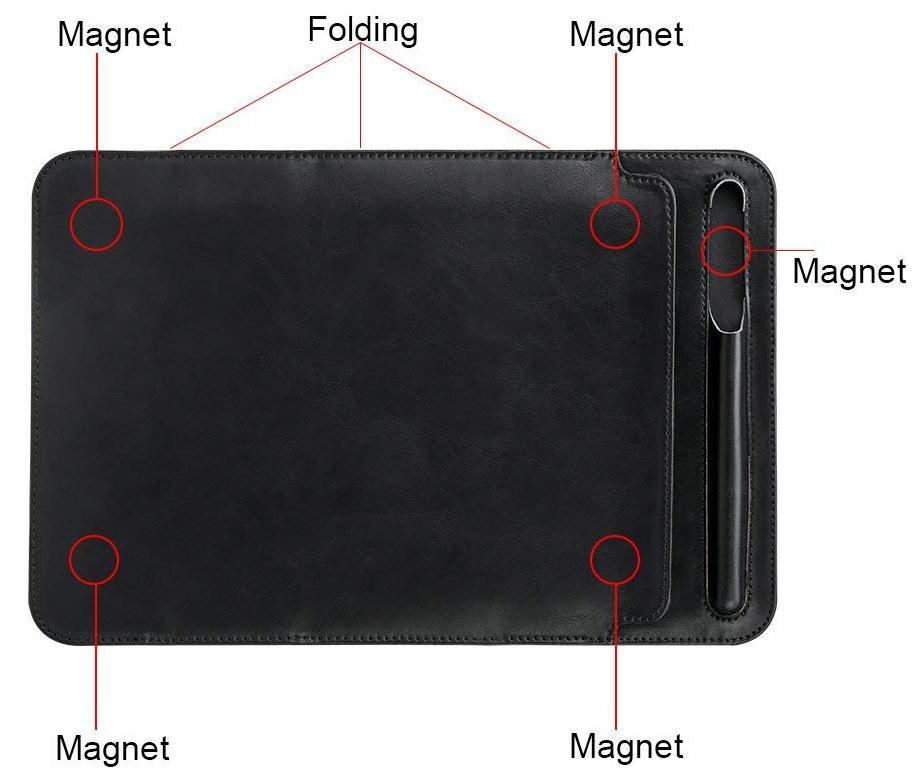 Чехол Jisoncase PU Leather (JS-PRO-23M10) для iPad Pro 10.5 (Black)
