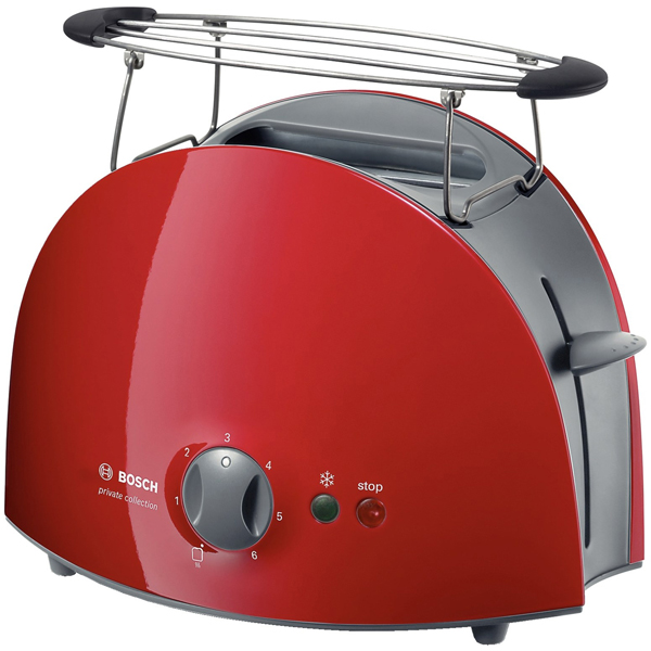 Bosch Private Collection TAT 6104 - тостер (Red)