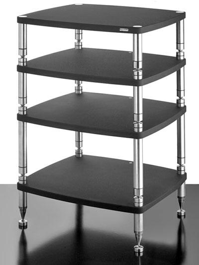 Solidsteel HF-4 - стойка для аудио-видео оборудования (Black)