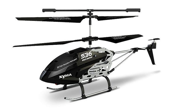 Syma S36 Space Shuttle 2.4GHz - радиоуправляемый вертолет (Black)