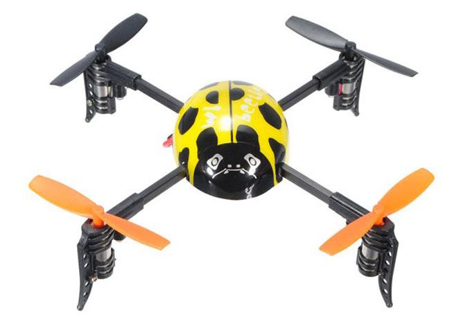 Mini Beetle LadybirdМини-квадрокоптеры<br>Радиоуправляемый квадрокоптер<br>