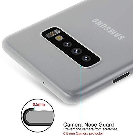 Чехол Memumi Super Slim для Samsung Galaxy S10 (White)