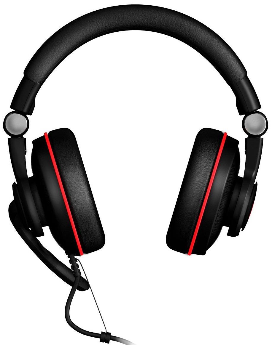 EpicGear SonorouZ SE V2.0 (EGASSE-7UWB-AMSG) - игровая гарнитура (Black/Red)