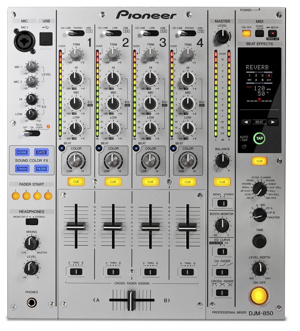 Pioneer DJM-850-S - DJ-микшер (Silver)