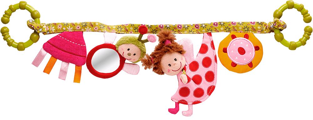 Lilliputiens Божья коровка Лиза: подвес с погремушками (86216)Развивающие игрушки<br>Подвес с погремушками<br>
