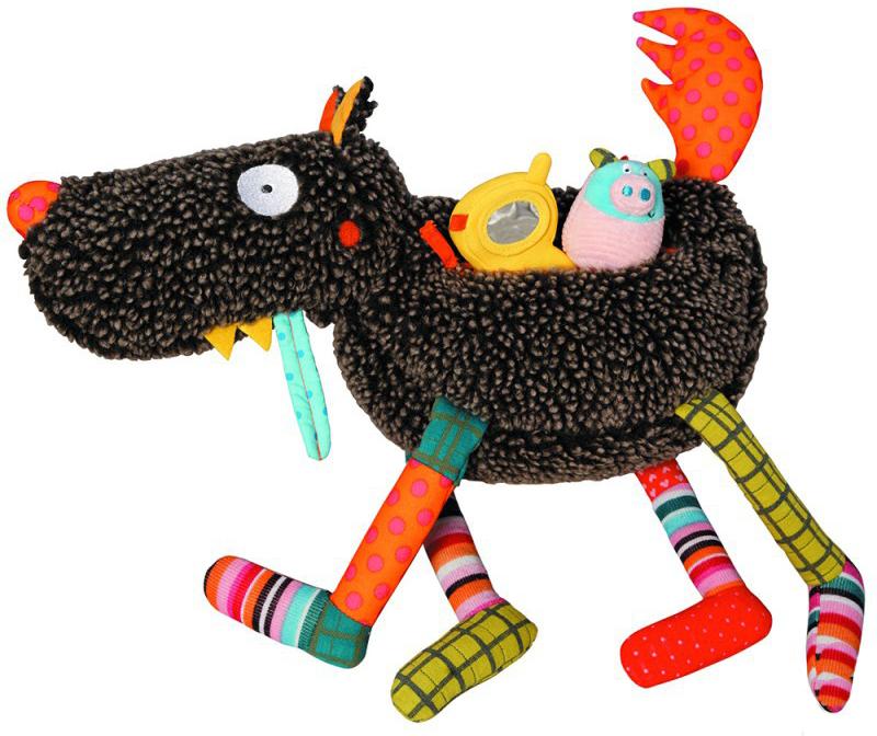 EbuLobo Волк-обжора (01EB0001) - развивающая игрушка