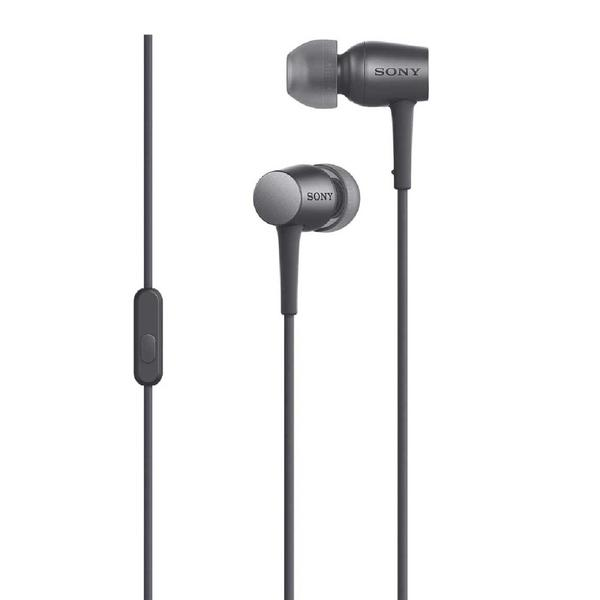 Sony MDR-EX750AP - вставные наушники с микрофоном (Charcoal Black)Внутриканальные наушники<br>Вставные наушники<br>
