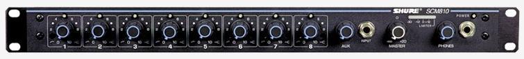 Shure SCM810E (17984) - микрофонный микшер (Black)
