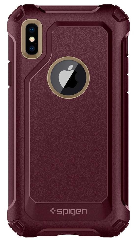 Чехол Spigen Pro Guard (057CS22700) для Apple iPhone X (Shampagne Gold)