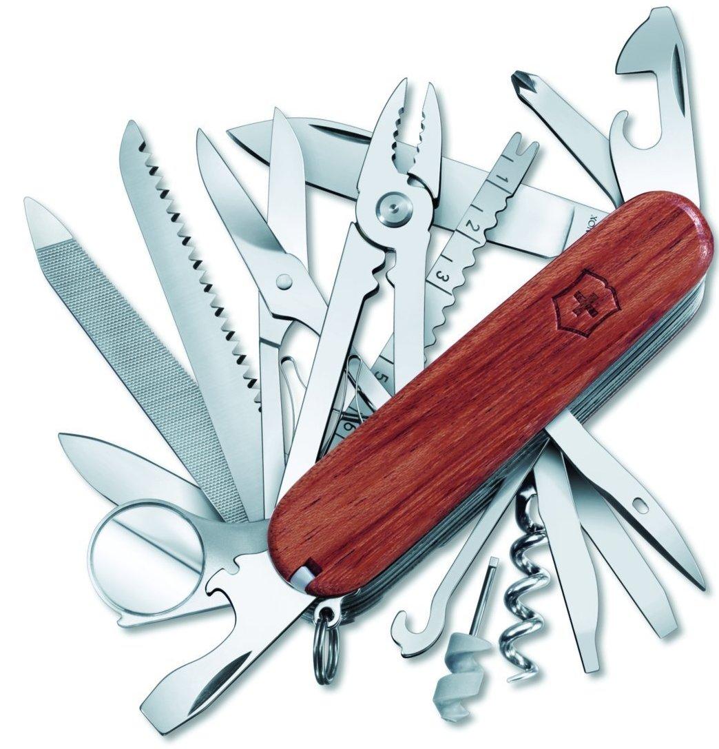 SwissChamp нож перочинный victorinox swisschamp 1 6795 lb1