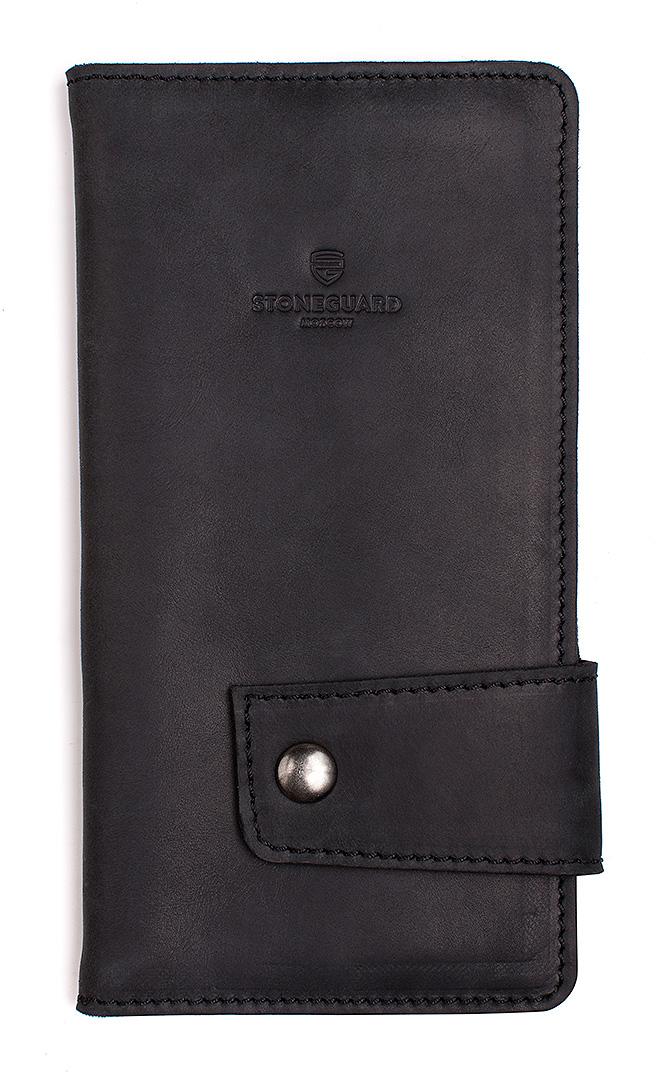 Stoneguard 321 - кожаный кошелек (Black)