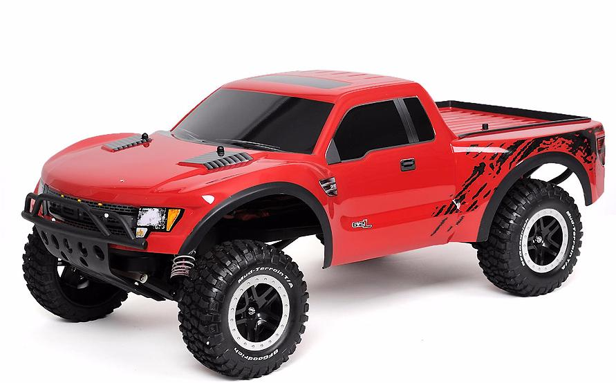 Traxxas Ford F150 SVT Raptor 1:10 - радиоуправляемый шорт-корс (Red) TRA58064