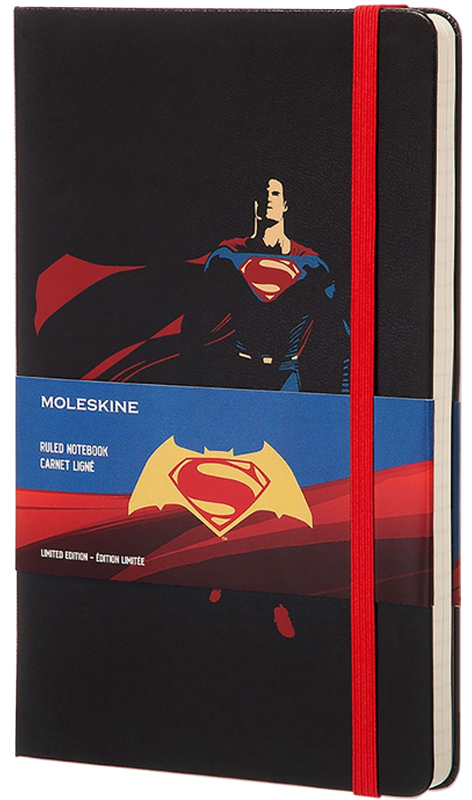 Moleskine Batman vs Supermen LEBVSBQP060
