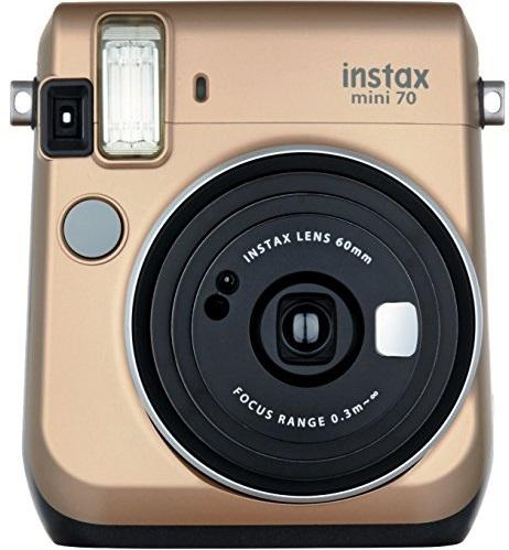 Fujifilm Instax MINI 70 - фотокамера мгновенной печати (Gold)