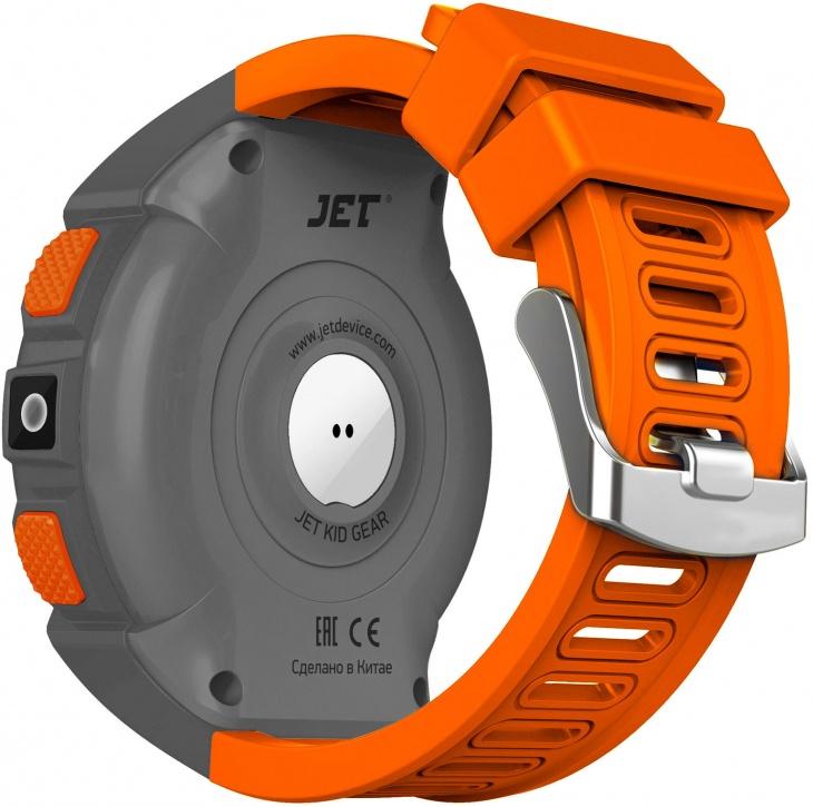 Детские умные часы Jet Kid GEAR (Grey/Orange)