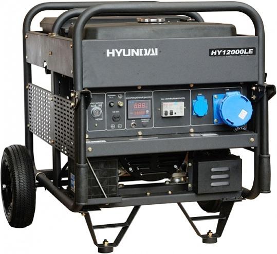 Hyundai HY 12000LE - бензиновый генератор (Black)