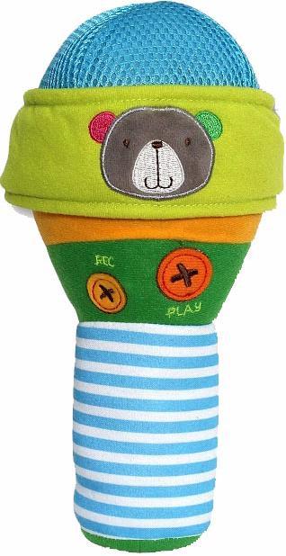 Bobbie & Friends Поющий Микрофон (Т57148) - плюшевая интерактивная игрушка (Multicolor)