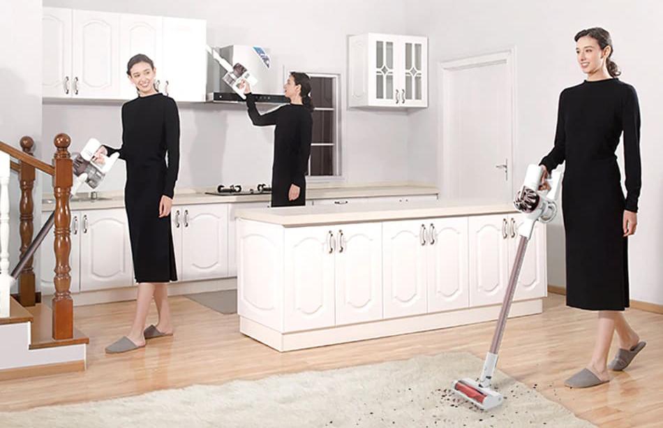 Купить беспроводной пылесос Xiaomi Dreame XR Vacuum Cleaner (White ...
