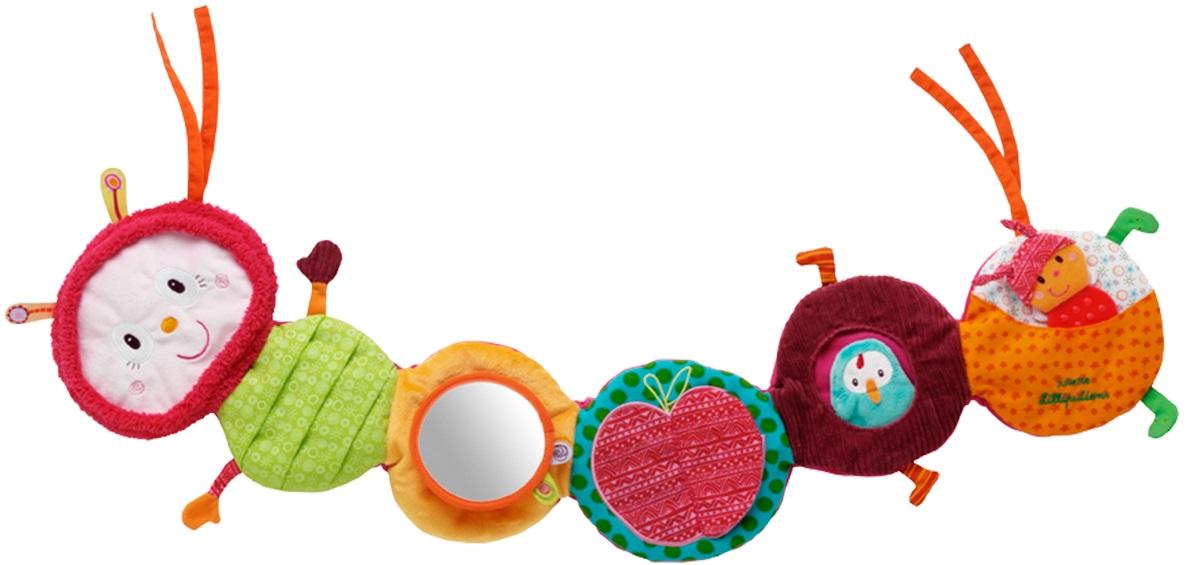 Lilliputiens Гусеница Джульетта: развивающая игрушка на кроватку (86374)