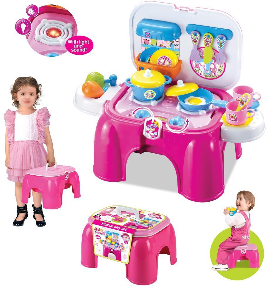Моя профессияИгрушки для ролевых игр для девочек<br>Кухня с аксессуарами<br>