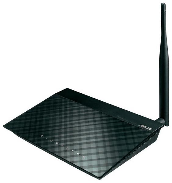 Asus RT-N10P V2 - беспроводной маршрутизатор (Black)