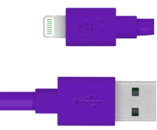 Belkin Mixit Flat Lightning to USB F8J148bt04-PUR
